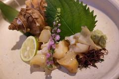 (HAMACHI!) Tags: tokyo bbq 2016 japan food  zenibakobbq hokkaido ginza shinbashi charcoalgrill dinner pub seafood fujifilmx70 fujifilmx x70
