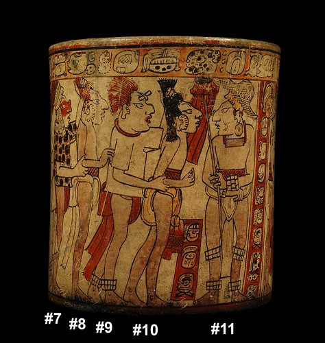 Mayan War Vase – Battle Scene (Side C)