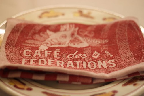 Lunch at Cafe des Federations