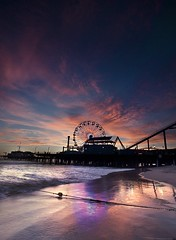 Santa Monica Pier [explored] (Raf Ferreira) Tags: california santa usa pier los angeles monica rafael ferreira peixoto