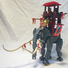 The great Mmak of Harad (Pate-keetongu) Tags: minas lego battle lotr oliphant tirith moc oliphaunt pelennor
