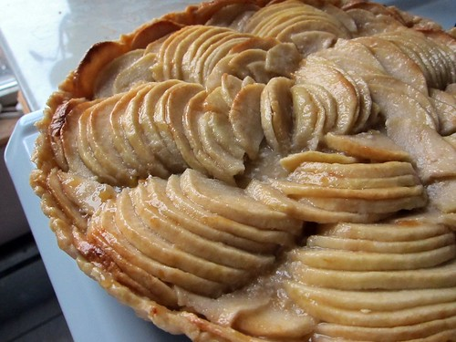 Sara Moulton's French Apple Tart