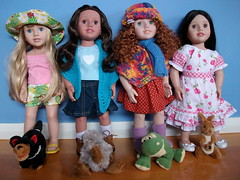 Our Australian Girl Dolls (AnnMostly) Tags: emily jasmine matilda australiangirldoll australiangirldollamy