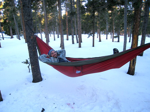 Winter Time Hammock Time!