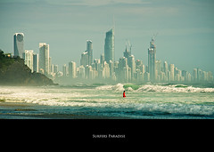 Surfers Paradise (Faisal!) Tags: ocean gold coast paradise pipe wave australia surfing brisbane queensland surfers curl aussie