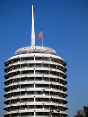 Capitol Records (Ape Flavored) Tags: california capitolrecords hollywood recordlabel johnnymercer capitolrecordstower 1750vinestreetlosangeles