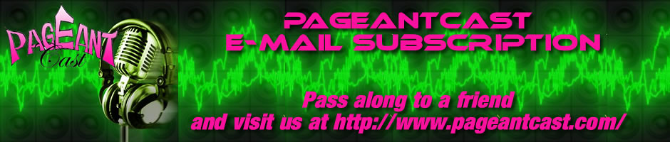 PageantCast E-mail Banner