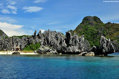 Tropical Haven (D Pardo) Tags: travel sea seascape landscape island elnido palawan waterscape rockformation beachscape limestonecliffs absolutelystunningscapes