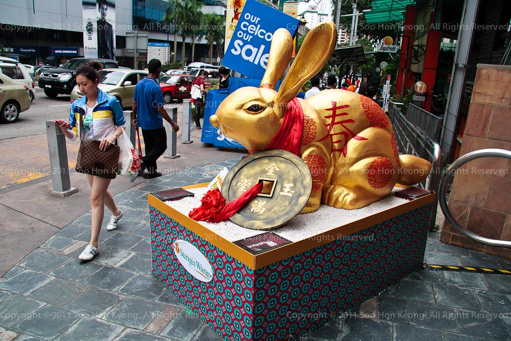 Happy Chinese New Year (Rabbit) @ KL, Malaysia