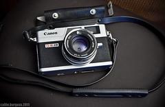 Vintage Canonet GIII QL17 (Canine at Heart Photography) Tags: old slr 35mm canon retro vintagecamera g3 canonet canonetgiiiql17