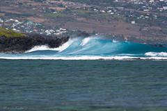 Swell (François Dorothé) Tags: blue reunion coast surf wave côte bleu coastline vague swell réunion laréunion reunionisland françoisdorothé francoisdorothe
