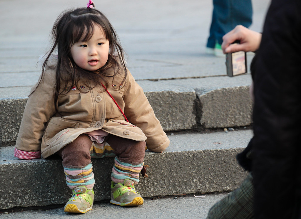 Cute child in Kyoto