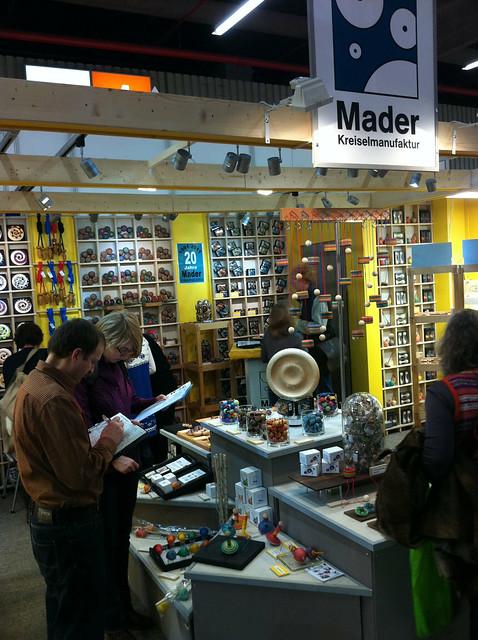 Mader-Kreisel auf der Spielwarenmesse