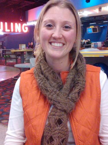 Jess's scarf