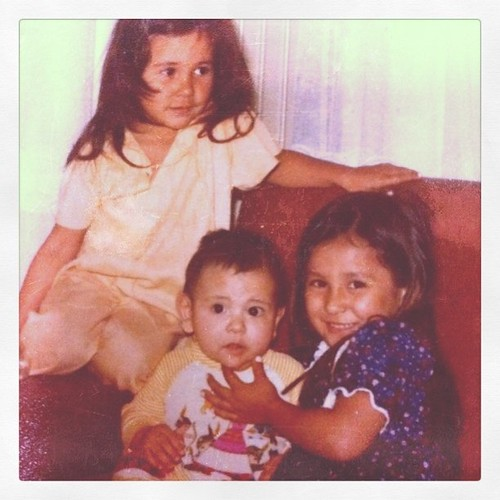 Eu (de azul) com meus irmãos Sheron e Herman #aniversario #aos6