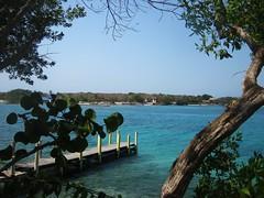 Isla (Gonzalo Balboa) Tags: water muelle mar agua colombia selva isla oceano caribe islarosario isladelpirata