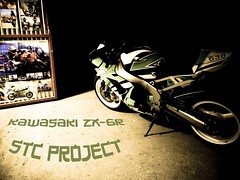 Kawasaki ZX-6R STC finish (StriciKanegr) Tags: 2005 2003 green 2004 st out mod ninja quality samsung 2006 burn 600 stc 500 custom kawasaki exhaust paintjob zx footage zx6r 636 zx636 leovince monsterslip procejct