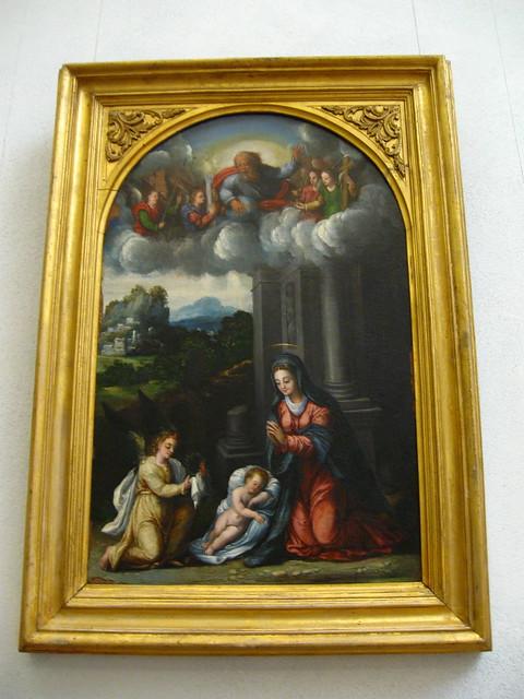 ローマの宗教画のフリー写真素材
