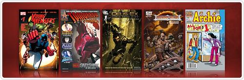 Digital Comics Store Update (9th February 2011)