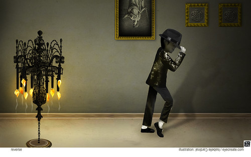 Moonwalk - Michael Jackson - reverse
