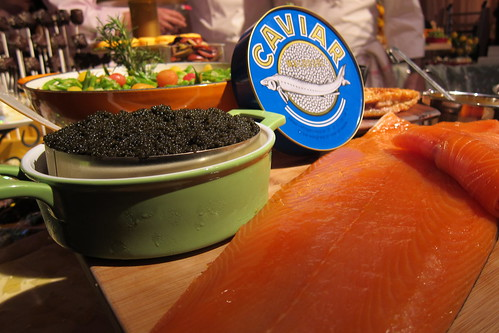 2011 Oscar Food: Caviar + Smoked Salmon