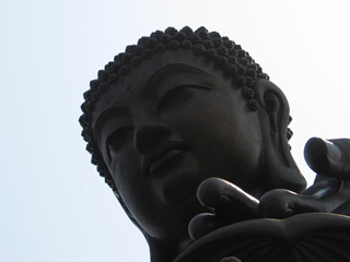 Large statue of the Buddha