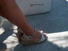 HPIM2081 (Candid Heels) Tags: street public stockings high pumps boots shots sandals candid heels pantyhose nylons
