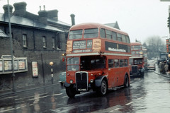 RT583 on a wet day (John A King) Tags: woolwich londontransport rt593 route177 hlx400