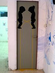 Project Palazzo (Omanoot.com) Tags: art kids cool stencil tel aviv scene peeing