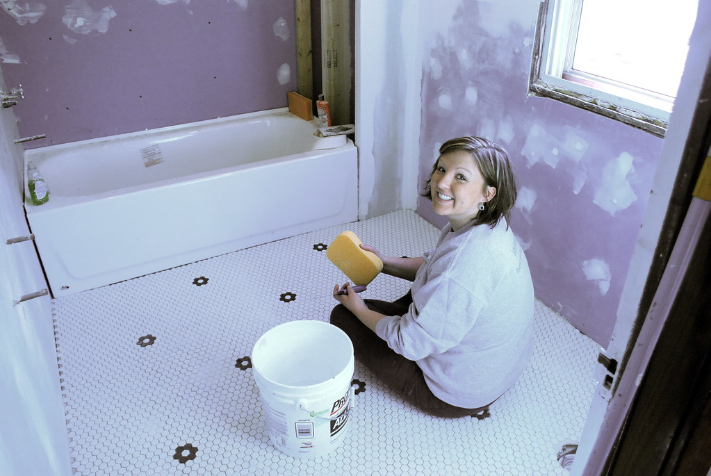 Staining Grout With Acrylic Paint