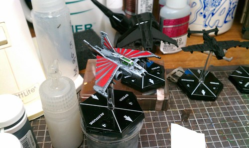 Aeronautica Imperialis Strike Lighting Paint Test