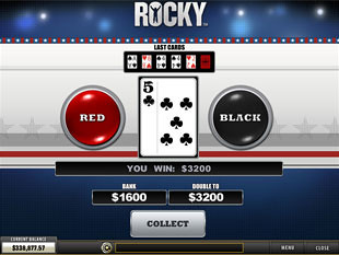 free Rocky slot gamble feature