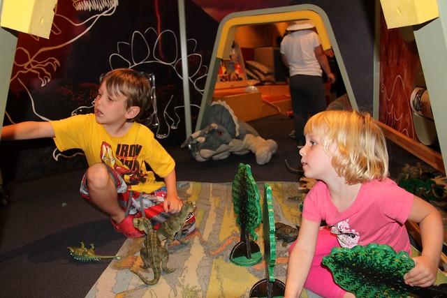 Kids space Australian Museum