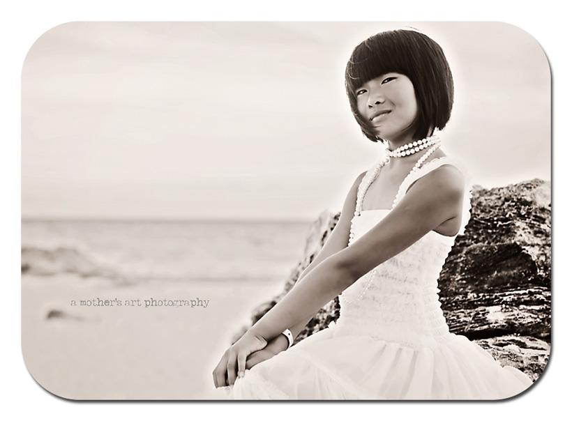 sea Grace black and white WM