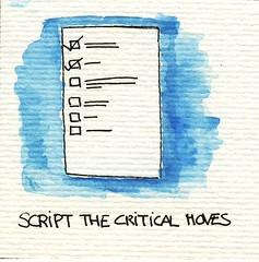 Script the Critical Moves