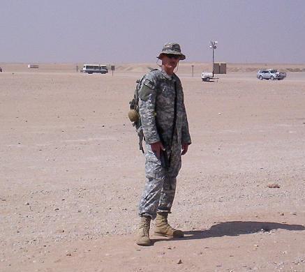 Gary Ricketts, US Army