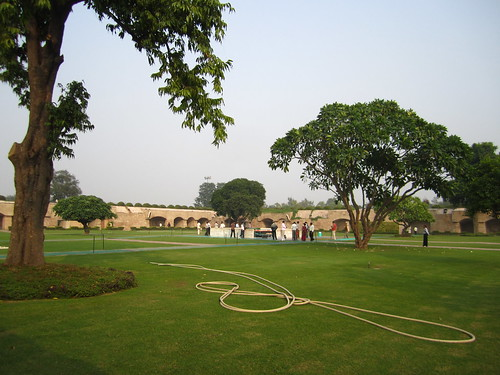 Raj Ghat - Gandhi memorial