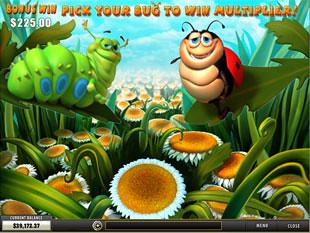 free Happy Bugs slot happy flower bonus