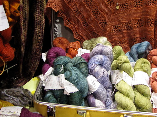 Girl on the Rocks yarn