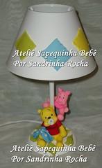 Abajur (Ateli SapequinhaDecoraes de Beb) Tags: baby abajur luminaria ursinhos farmacinha kitdebeb ursinhopooh turmadoursinhopooh kitdehiginecompleto