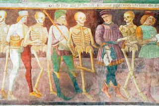 Trionfo della morte e Danza macabra,Oratorio dei Disciplini, Clusone, Bergamo