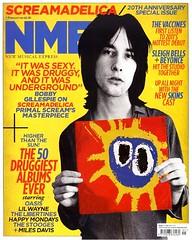 "Primal Scream NME cover 2011 <a style=""margin-left:10px; font-size:0.8em;"" href=""http://www.flickr.com/photos/58583419@N08/5460672607/"" target=""_blank"">@flickr</a>"