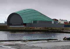View of Arts Centre from Harbour