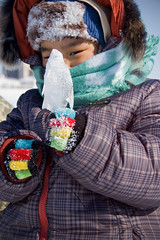Fish Lolly * (berik) Tags: winter boy fish ice hat scarf frozen clothing lolly centralasia kazakhstan atyrau  riverural