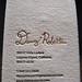 Foil & Letterpress Business Card - Danny Roberts
