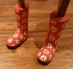 Deidre's wellies
