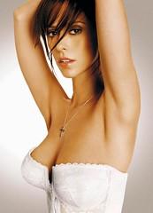 Jennifer Love Hewitt (britishtea2075) Tags: woman sexy panties breasts glow arms underwear small bra american short actress glowing brunette cleavage jenniferlovehewitt heavy height petite chested