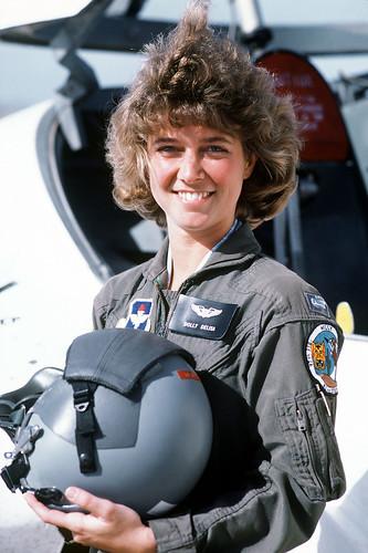 フリー写真素材, 社会・環境, 戦争・軍隊, 女性, 女性兵士, パイロット・操縦士, アメリカ人,