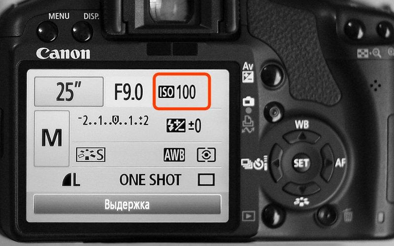Примеры параметров фотографий