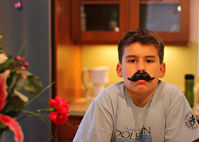 Joey mustache